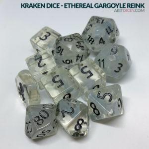 Kraken Dice - Ethereal Gargoyle Reink