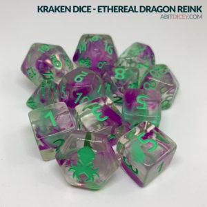 Kraken Dice - Ethereal Dragon Reink