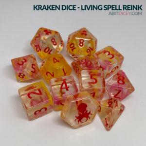 Kraken Dice - Living Spell Reink