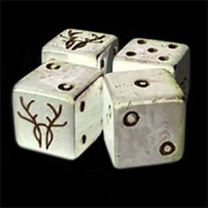 More new Kickstarter dice: Trophy RPG