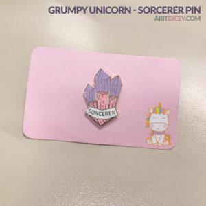 "Grumpy Unicorn - ""Glass Classes"" Sorcerer Pin"