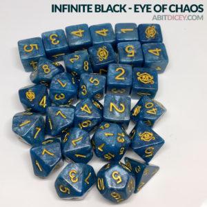 Eye of Chaos Actual Dice