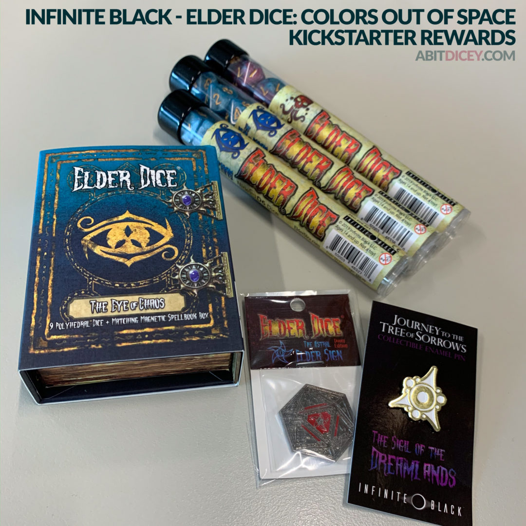 Review: Elder Dice: the Colors Out of Space Kickstarter