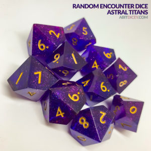 Random Encounter Dice - Astral Titans
