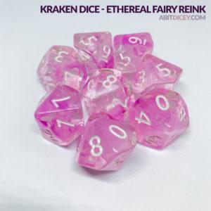 Kraken Dice - Ethereal Fairy Reink