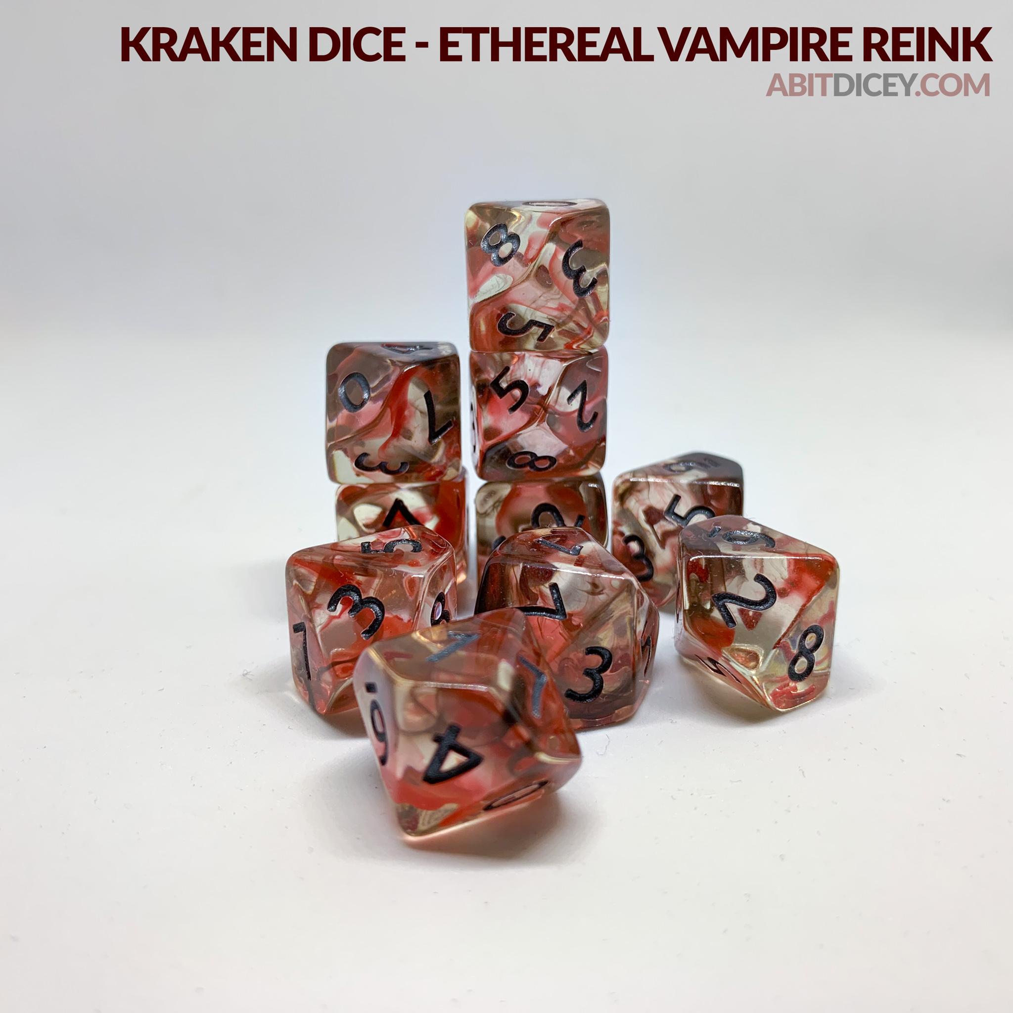 Kraken Dice - Ethereal Vampire Reink