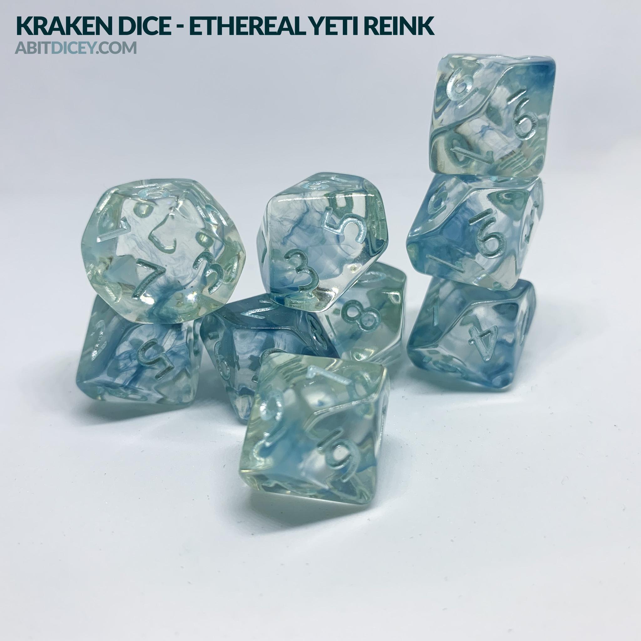 Kraken Dice - Ethereal Yeti Reink