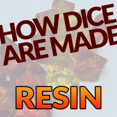Dicemaking 2: How Resin Dice are Made