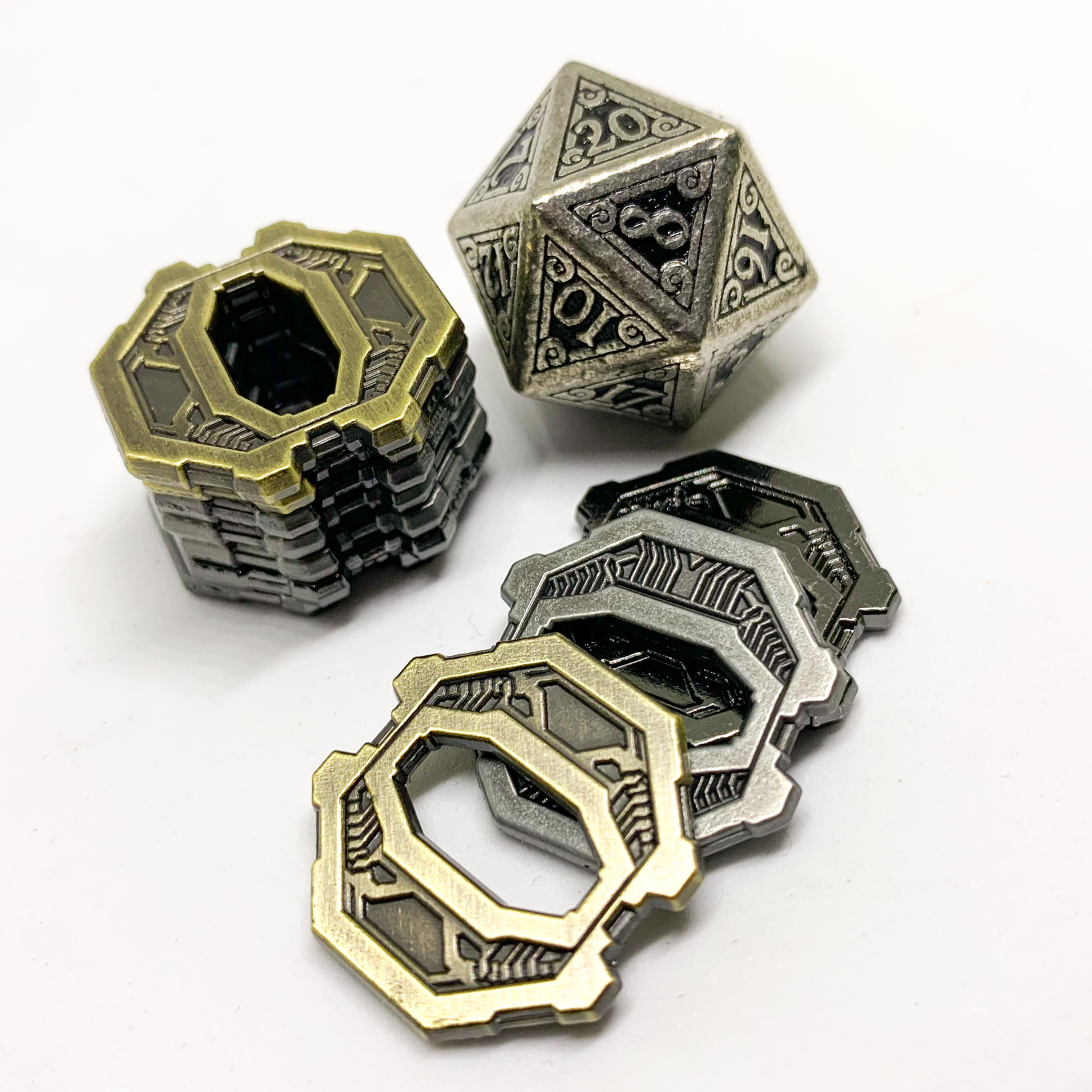 Campaign Coins - Numenera Shims type 2Campaign Coins - Numenera Shims type 2
