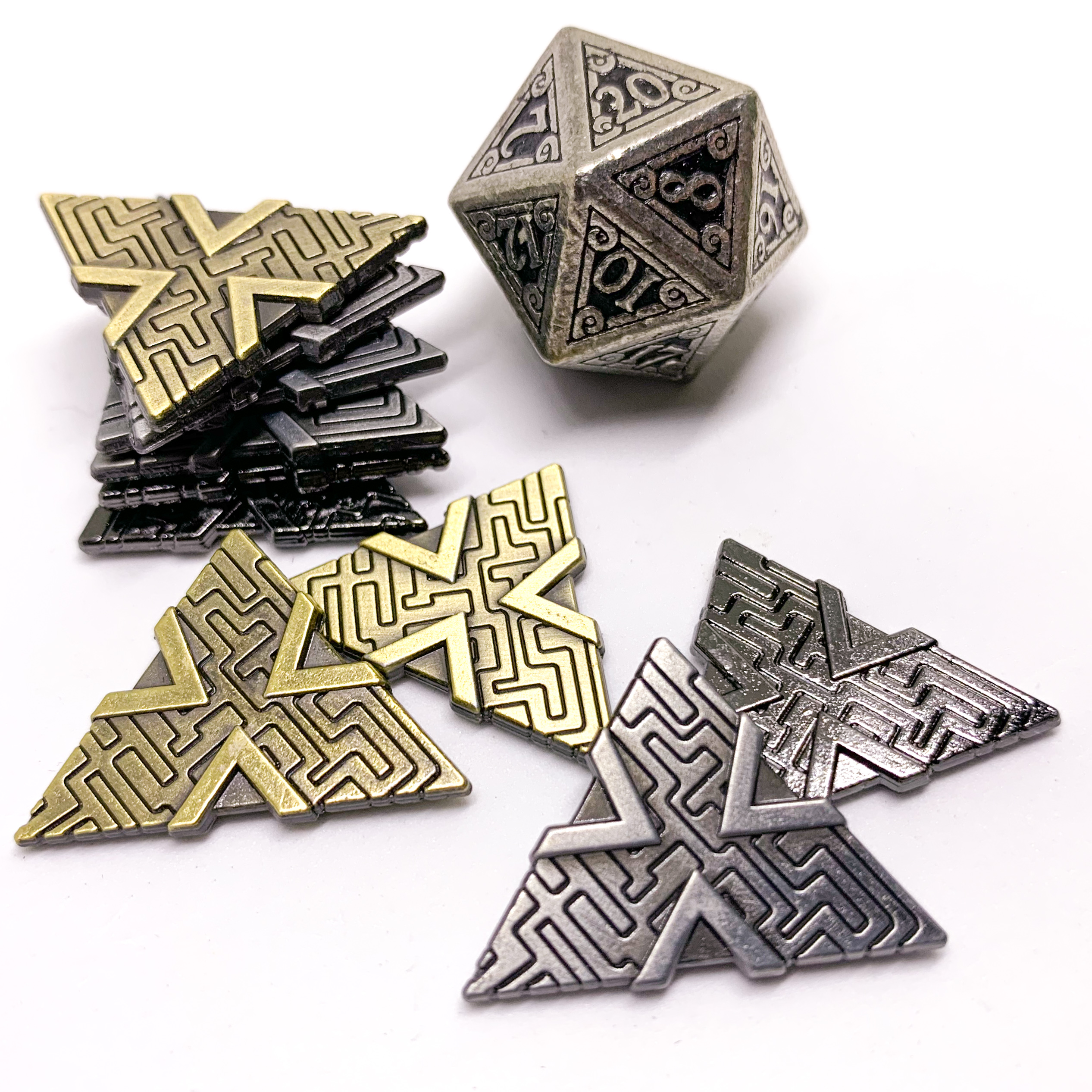 Campaign Coins - Numenera Shims type 3