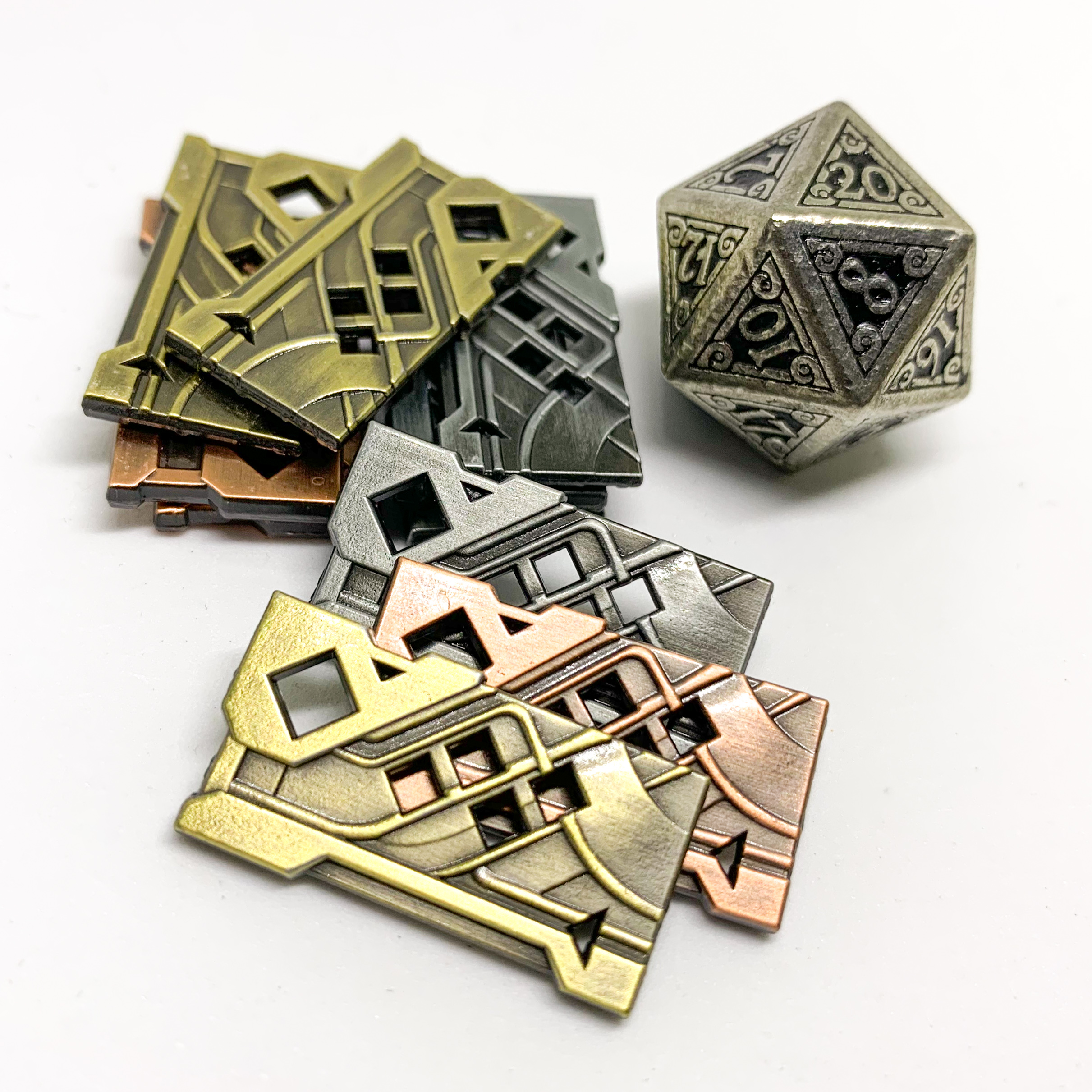 Campaign Coins - Numenera Shims type 4
