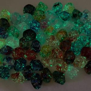 Chessex Nebula Dice with Luminary effect